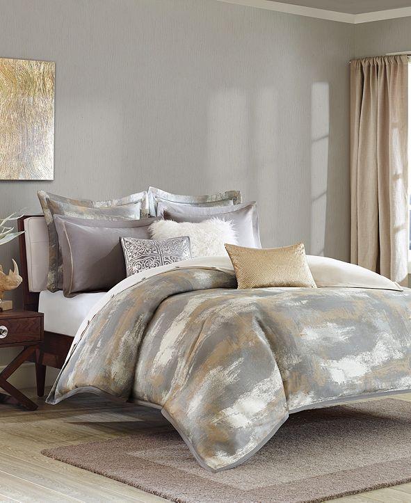 JLA Home Madison Park Signature Graphix King 9 Piece Jacquard Comforter Set