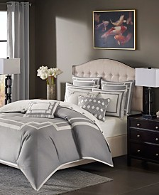 Madison Park Signature Savoy King 9 Piece Comforter Set