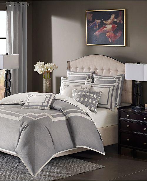 JLA Home Madison Park Signature Savoy King 9 Piece Comforter Set
