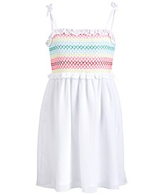 Little Girls Smocked Dress, Created for Macy's