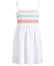 Epic Threads Toddler Girls Smocked Dress, Created for Macy's