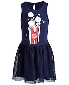 Epic Threads Little Girls Popcorn Tulle Dress, Created for Macy's