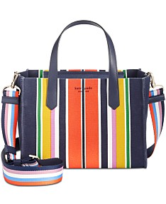0b4ed770f38d kate spade new york Kitt Stripe Small Satchel