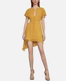 BCBGMAXAZRIA Flutter-Sleeve Dress