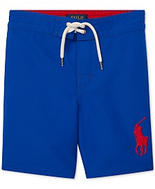 Polo Ralph Lauren Toddler Boys Traveler Swim Trunks