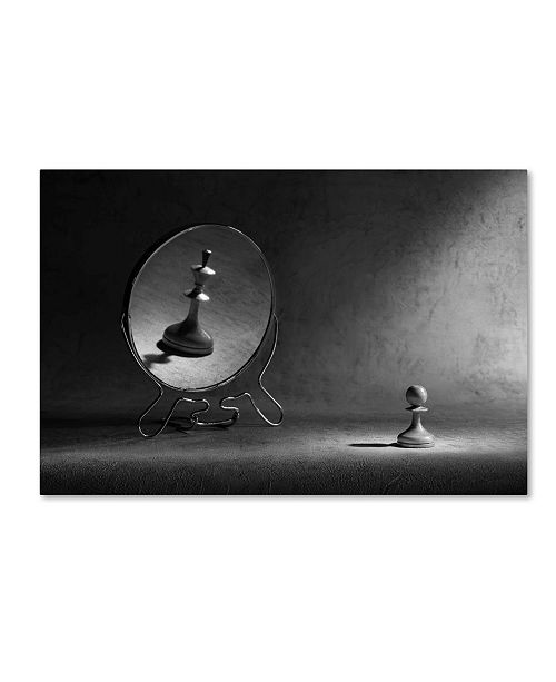 "Trademark Global Victoria Ivanova 'The Megalomania 2' Canvas Art - 47"" x 30"" x 2"""