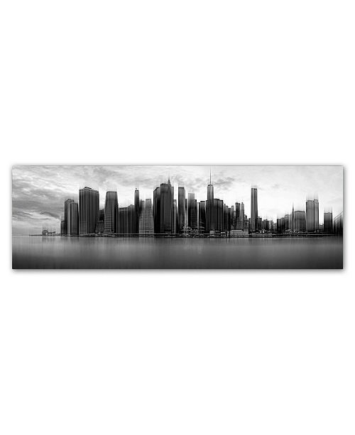 "Trademark Global Wim Schuurmans 'New York Skyline' Canvas Art - 47"" x 16"" x 2"""