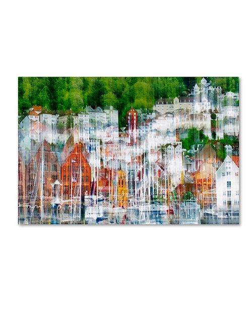 """Trademark Global Wayne Pearson 'The More You Look The More You See' Canvas Art - 32"""" x 22"""" x 2"""""""