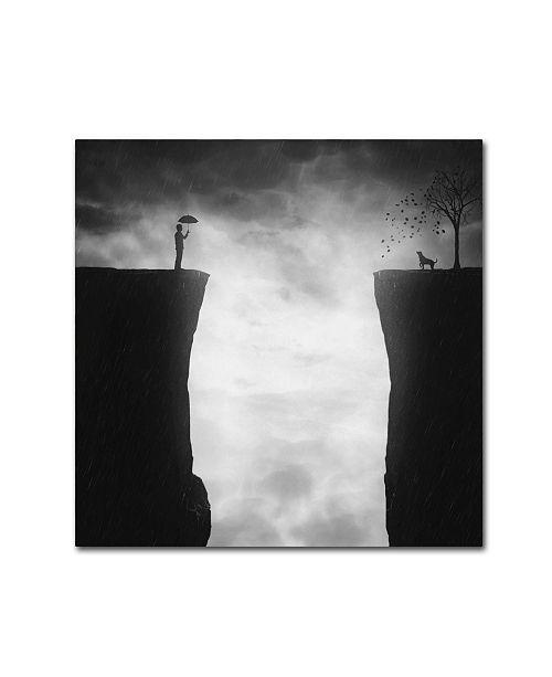 "Trademark Global Ivan Marlianto 'Bound' Canvas Art - 35"" x 35"" x 2"""