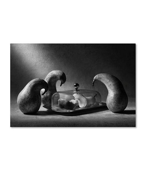 "Trademark Global Victoria Ivanova 'The Mausoleum' Canvas Art - 32"" x 22"" x 2"""