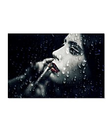 """Paulo Abrantes 'Through The Looking Glass' Canvas Art - 47"""" x 30"""" x 2"""""""