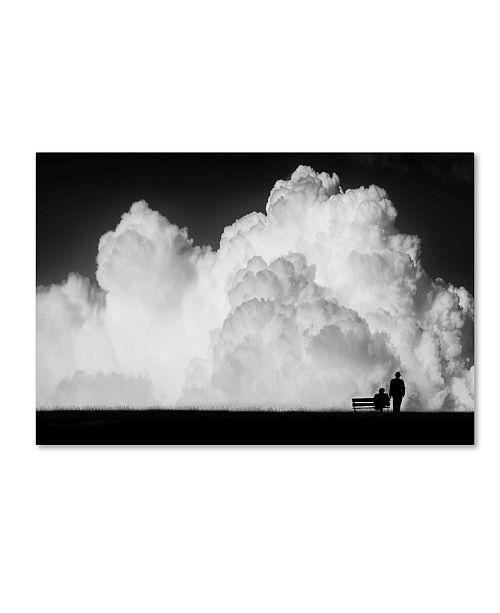 "Trademark Global Stefan Eisele 'Waiting For The Storm' Canvas Art - 47"" x 30"" x 2"""