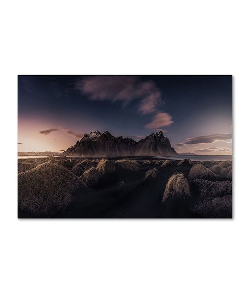 "Trademark Global Javier De La 'Since The End Of The Day' Canvas Art - 32"" x 22"" x 2"""