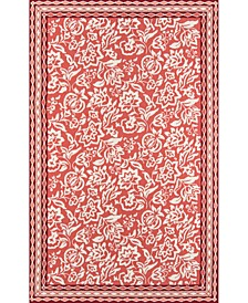"Under The Loggia   Rokeby Road 2'3"" x 8' Indoor/Outdoor  Runner Area Rug"
