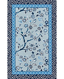 """Under The Loggia   Blossom Dearie 2'3"""" x 8' Indoor/Outdoor Runner Area Rug"""