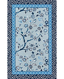 """Under The Loggia   Blossom Dearie 3'9"""" x 5'9"""" Indoor/Outdoor Area Rug"""