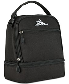 Men's Stacked Compartment Lunch Bag
