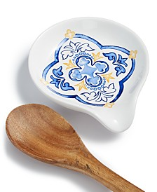 Martha Stewart Collection La Dolce Vita Spoon Rest, Created for Macy's