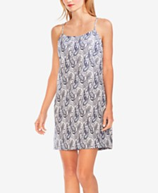 Vince Camuto Printed Sleeveless Shift Dress