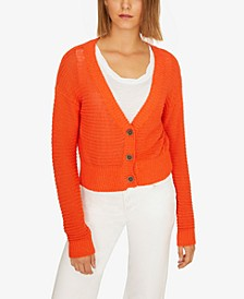 Summer Cropped Cardigan