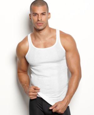 2(X)Ist Men'S Essential 3 Pack Tank Top, White