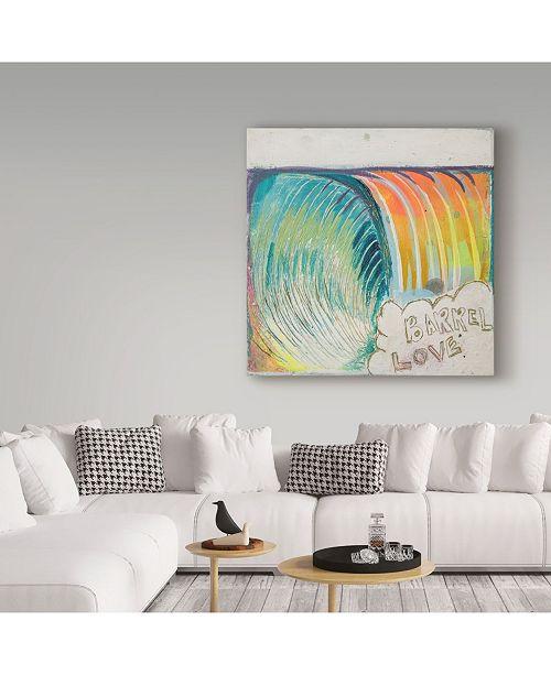 Zwart Ride The Pipe Canvas Art 14 X 14 X 2