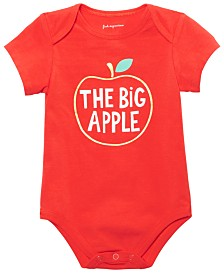 First Impressions Baby Boys or Girls Big Apple Bodysuit, Created for Macy's