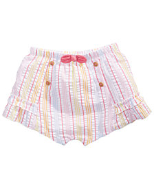 First Impressions Baby Girls Striped Seersucker Shorts, Created for Macy's