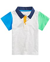 ba16836f First Impressions Baby Boys Colorblocked Polo Shirt, Created for Macy's