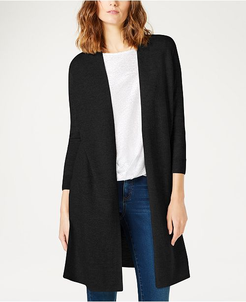 INC International Concepts I.N.C. Lightweight Duster Sweater, Created for Macy's