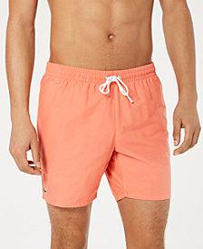 "Lacoste Men's Solid Mid Length 6.5"" Swimsuit"