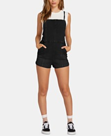 Volcom Juniors' Denim Romper