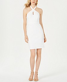 Halter-Neck Sheath Dress