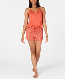 Alfani Super Soft Tank Top & Shorts Sleep Set, Created for Macy's