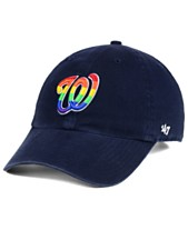 huge discount 9628f 40005  47 Brand Washington Nationals Pride CLEAN UP Strapback Cap ·