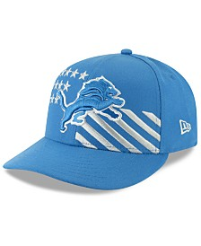 New Era Detroit Lions Draft Low Profile 59FIFTY-FITTED Cap