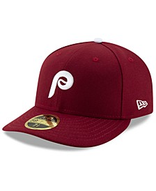 Philadelphia Phillies Low Profile AC Performance 59FIFTY Fitted Cap