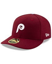 save off daf30 7f175 New Era Philadelphia Phillies Low Profile AC Performance 59FIFTY Fitted Cap