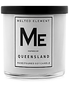 Melted Element Queensland Soy Candle, 11-oz.