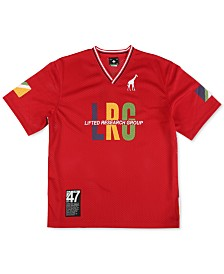 LRG Men's Energy Tripe Logo Jersey T-Shirt