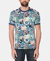 0b821dfe Original Penguin Men's Floral Graphic T-Shirt