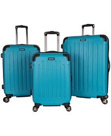 Kenneth Cole Reaction Renegade 3-Piece Spinner Luggage Set