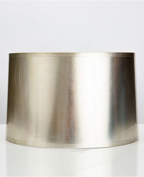 Couture Round Tapered Antique Foil Shade