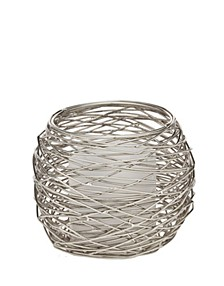 Nest Voltive Holder with Nickel Finish