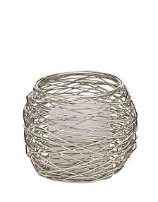 Godinger Nest Voltive Holder with Nickel Finish
