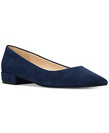 Nine West Fayth Almond-Toe Flats