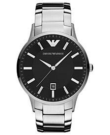Watch, Men's Stainless Steel Bracelet 43mm AR2457