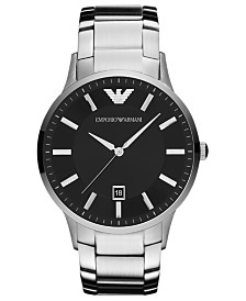 Emporio Armani Watch, Men's Stainless Steel Bracelet 43mm AR2457