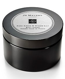 Jo Malone London Dark Amber & Ginger Lily Body Crème, 5.9-oz.