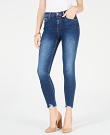 Flying Monkey Cropped High-Rise Skinny Jeans
